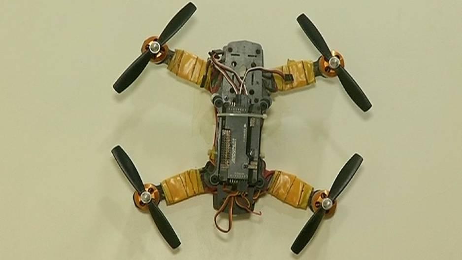 Special Drone Designed By Odia Class 10 Boy