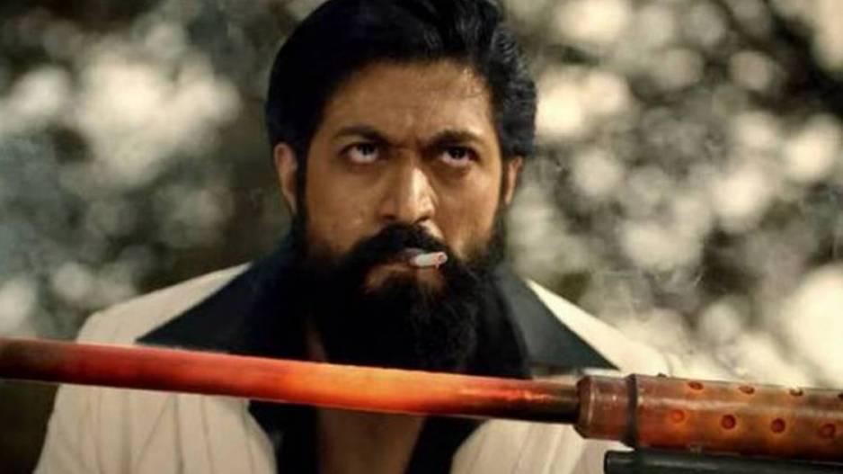 Rocky Bhai Aka Yash's Iconic Smoking Scene From KGF 2