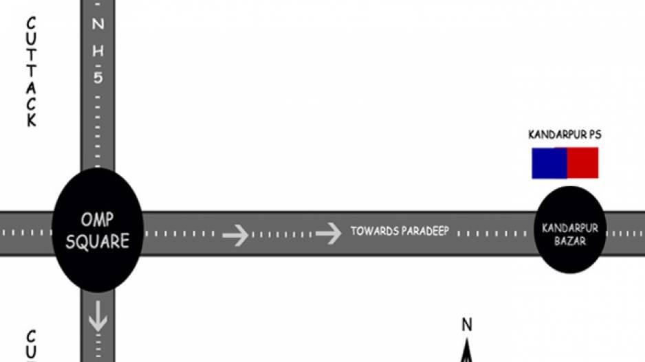 Cuttack Map