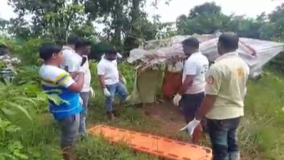 Women Rescued From Jungle