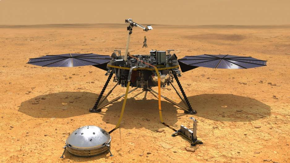 Quake on Mars