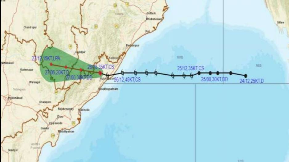 Cyclone Gulab Turns Into Deep Depression