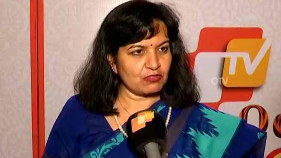 Bhubaneswar MP Aparajita Sarangi
