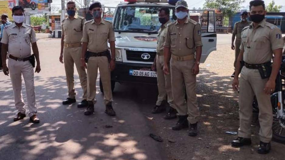 Odisha: Youth Attacks Cop During COVID Shutdown Enforcement, Arrested