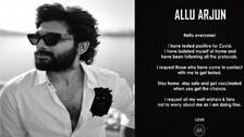Allu Arjun Tests Positive For Covid-19