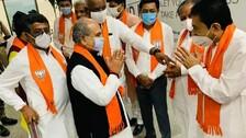 Gujarat BJP Legislators To Meet; Decision On Rupani Successor Likely Today