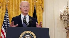 20-Year Military Presence In Afghanistan Ends: US Prez Biden