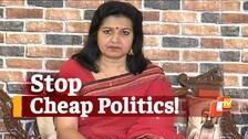 BJP MP Aparajita Sarangi Attacks Congress For Misleading People Amid COVID-19 Crisis