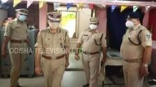 Odisha DGP Reviews Covid-19 Enforcement Drive In Berhampur