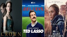 Emmys 2021: 'The Crown', 'Ted Lasso', 'Mare Of Easttown' Win Big