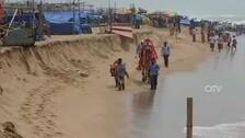 Coastline erosion along Puri sea beach raises concern