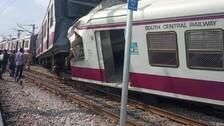 12 Critical In Kacheguda Train Accident In Hyderabad