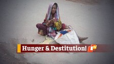 Elderly Woman In Odisha Found Eating Food Dropped On Road