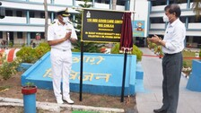 Odisha: Indian Navy Sets Up COVID Care Centre With 150 Beds At INS Chilka