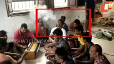 Covid Norms Thrown To Wind At Jharpada Jail As Inmates Engage In Merrymaking; Videos Go Viral