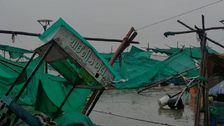 Cyclone Tauktae Eye Landfall Completes, Weakens After Landfall In Gujarat