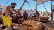 Rath Yatra 2021: Tumba Construction Of Chariots Underway At Puri Ratha Khala Amid Covid Protocols
