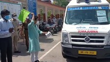 Vaccination At Doorstep For  Senior Citizens, Bed-Ridden And Differently-Abled Persons In Rourkela