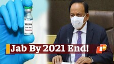 Covid-19 Vaccine To All Adults By 2021 End, Claims Health Minister Harsh Vardhan