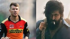 KGF Chapter 2 Release & Cricketer David Warner's Excitement! Check Here