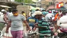 People Across Odisha Resort To Panic Buying In View Of Cyclone Yaas