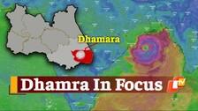 Cyclone Yaas's Likely Landfall Spot Dhamra Experiencing Heavy Winds, Rainfall