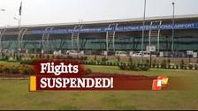 #CycloneYaas Impact: Flight Operations At Bhubaneswar Airport Suspended