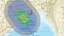Very Severe Cyclonic Storm Yaas Nears Odisha-WB Coast With Ferocious Intensity