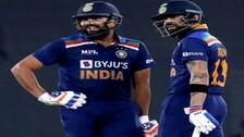 Kohli, Sharma Placed 2nd & 3rd In ICC ODI Rankings
