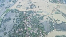 Odisha CM Undertakes Aerial Survey Of Cyclone Yaas-Hit Areas To Assess Damages