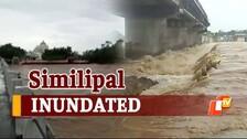 #CycloneYaas Aftermath: Heavy Rainfall In Mayurbhanj Leaves Rivers In Spate Marooning Villages