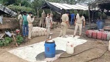 Excise Officials Attacked During Raids On Illegal Liquor Manufacturing Unit In Athagarh