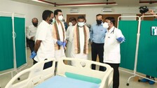 270-Bed COVID Care Centre Inaugurated In JSPL Township In Angul
