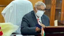 Justice Arun Mishra Takes Over As NHRC Chief
