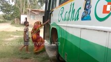 Bus Turns Shelter For Cyclone Yaas-Hit Family In Odisha
