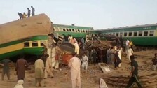 At Least 30 Killed, 50 Injured After Two Passenger Trains Collide In Pakistan