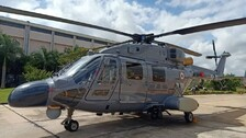 Navy Inducts 3 Indigenously-Built Advanced Light Helicopters ALH MK III