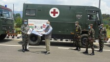 India Hands Over Medical Equipment Worth Over Rs 18 Crore To Nepali Army As Gesture Of Solidarity