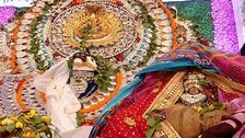 Divine Wedding Of Lord Shiva And Goddess Parbati Ends Sans Jubilation
