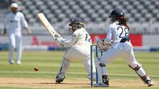 IND v ENG: England Women Move To 86/1 At Lunch Vs India