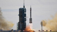 China Successfully Launches First Crewed Mission For Space Station Construction