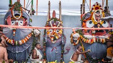 Lord Jagannath & Siblings Sick After Bathing Ritual, Secret Treatment Begins For Recovery