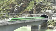 China Launches First Bullet Train In Tibet, Close To Indian Border