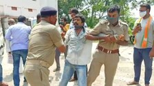 Irrigation Dept Employee Attempts Self Immolation Over Non-Payment Of Salary For 5 Years