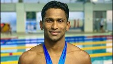 Sajan Prakash Becomes 1st Indian Swimmer To Get Direct Entry To Olympics