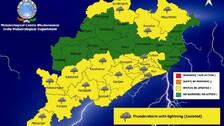 Weather Update: IMD Predicts Thunderstorm, Heavy Rain For Odisha Next Week