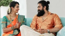 KGF Chapter 2 Actor Yash Is A Perfect Husband & These Pictures Say It All