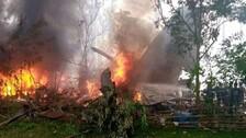 Philippines Air Force Plane Crash Kills 17 People