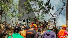 29 Killed, 17 Missing In Philippines Military Plane Crash