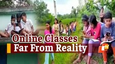 Reality Check: How Students In Odisha's Ganjam, Mayurbhanj Are Attending Online Classes